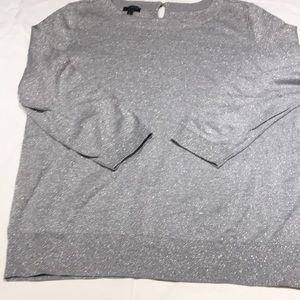 Shimmer large 2/4 sleeve sweater